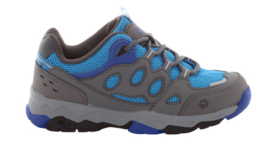 Jack Wolfskin MTN Attack 2 Low Shoes Kids brilliant blue